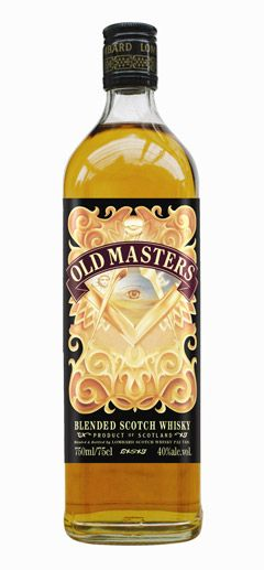 Old Masters Freemason Blended Scotch Whisky Oh yes! this is for us!  On the hunt to find it!