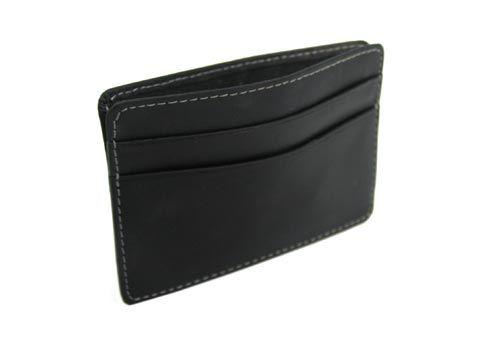 Slim Leather Credit Card and Money Holder Catalog #: CSLE0034 Minimum Order: 5000