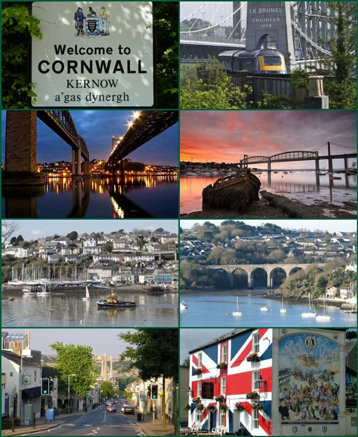 """Saltash (Cornish: Essa) is a town and civil parish in Cornwall. It has a population of 14,964. It lies in the south east of Cornwall, facing Plymouth over the River Tamar. It was in the Caradon district until March 2009 and is known as """"the gateway to Cornwall"""". Saltash means ash tree by the salt mill. Saltash is the largest town within the East Cornwall area and is one of the largest in Cornwall. Saltash is the location of Isambard Kingdom Brunel's Royal Albert Bridge, opened by HRH Prince…"""