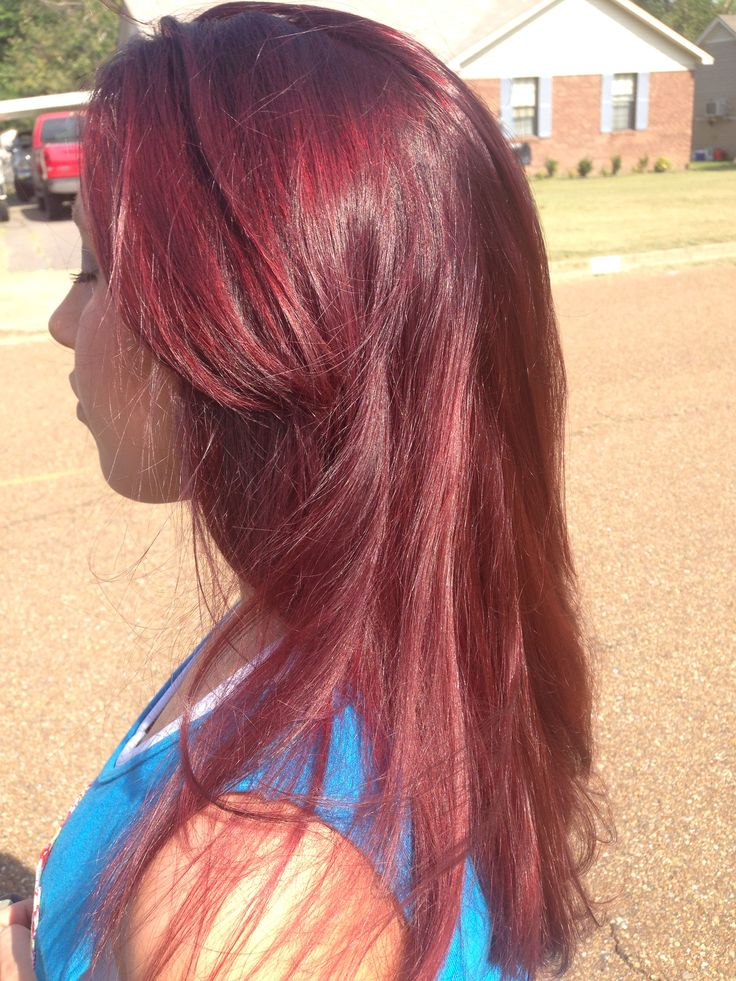 Red mahogany. Joico 5rm | LOVE these styles & colors ...