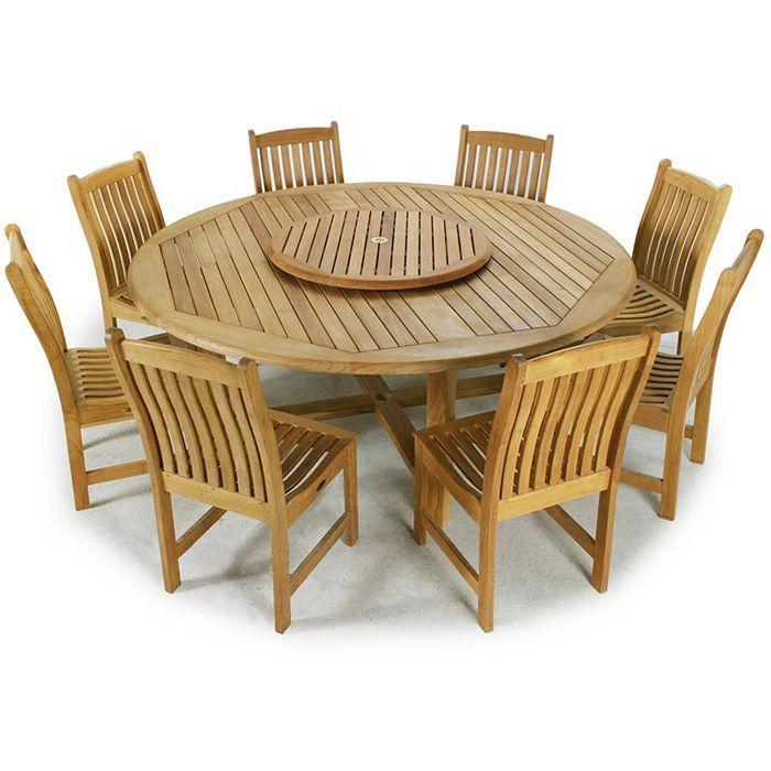Buckingham Veranda Teak Wood Dining Set From Westminster Teak