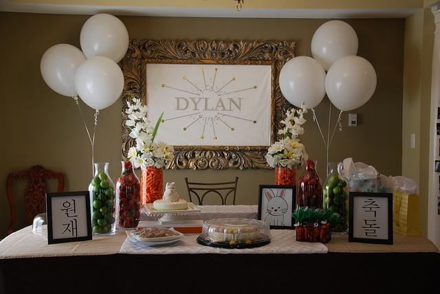 Dol table for Dylan WonJae