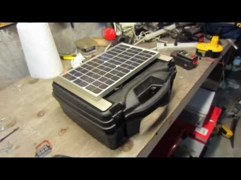 Build a high quality PORTABLE Solar Generator For $150 - SurvivalKit.com SurvivalKit.com