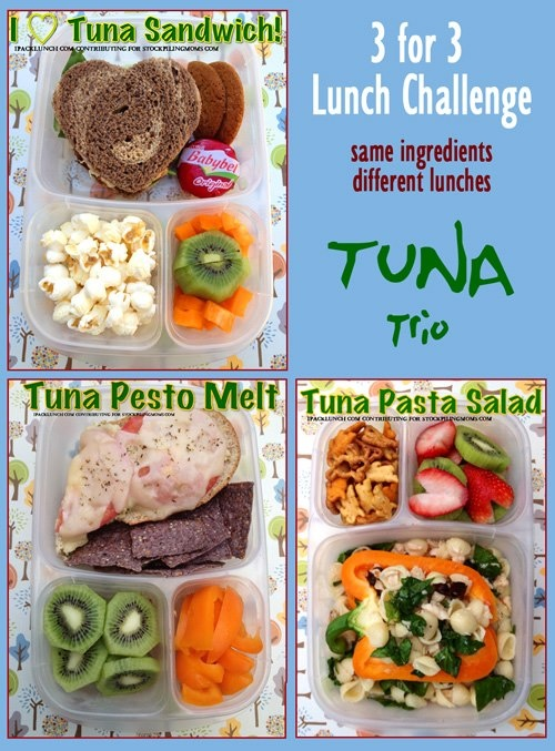 Got TUNA? Deb of IPackLunch has 3 yummy lunch ideas for you!