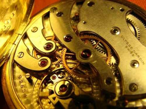 Antiguo Reloj De Bolsillo Ulysse Nardin Único, Oro 18 K $12,331.64 USD Argentina Joyas y Relojes Antiguos
