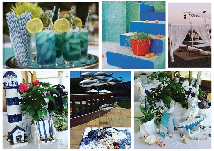 A Greek island themed party or event, we can do that any day!