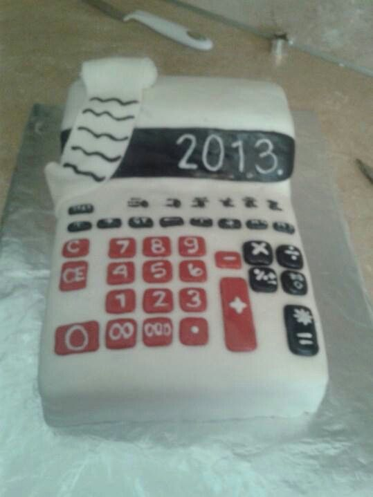 Accounting Cake Cakes I Bake Pinterest Cakes And