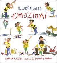 """""""Il libro delle emozioni: con Luca, Lisa e il cagnolino Teo"""", Amanda McCardie (2015)."""