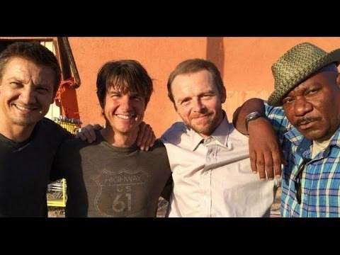 Tom Cruise Simon Pegg Jeremy Renner Ving Rhamesの画像 プリ画像