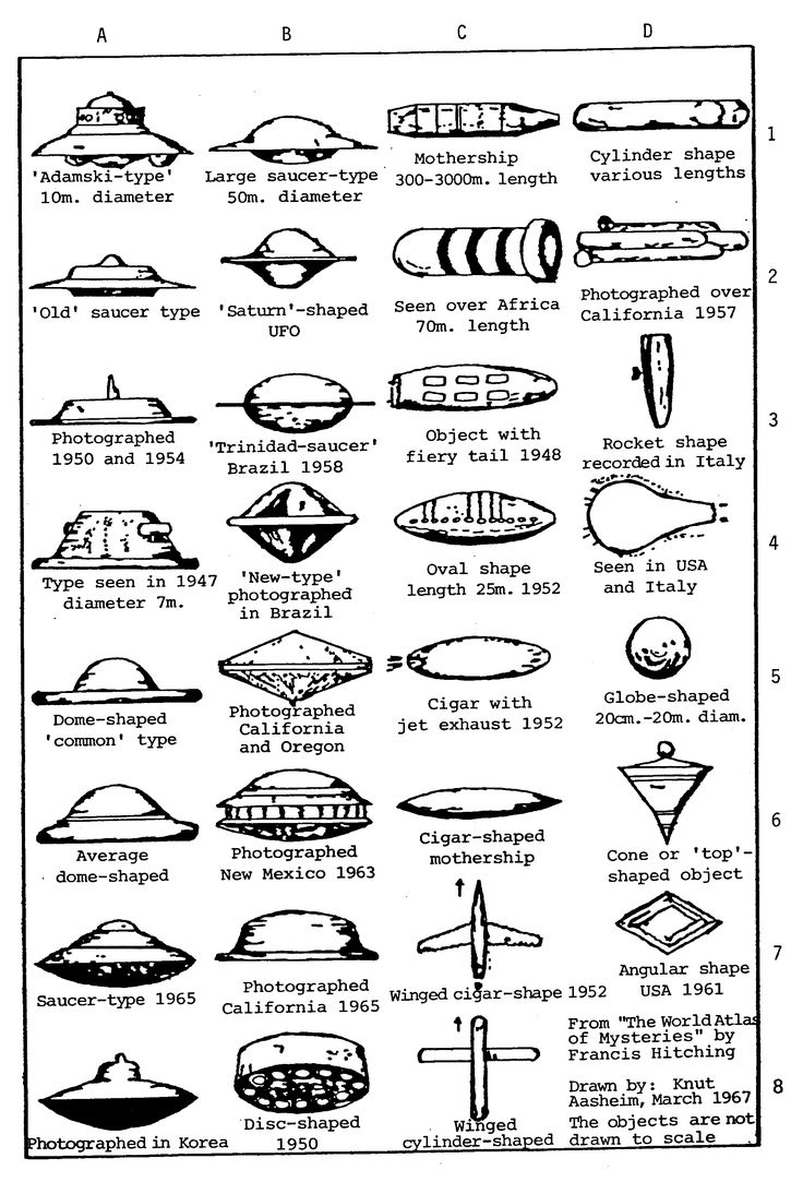 chart from poland documenting different shapes