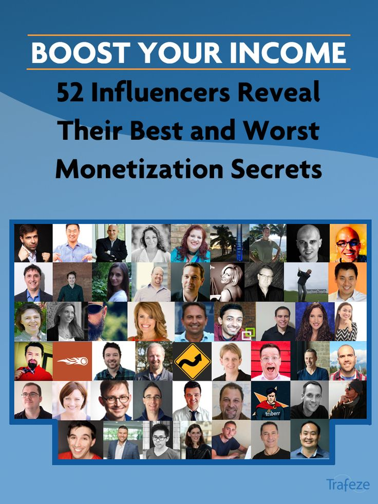 Find out what some of the best and brightest minds in the blogging world are doing to monetize their content and businesses. via @Trafeze
