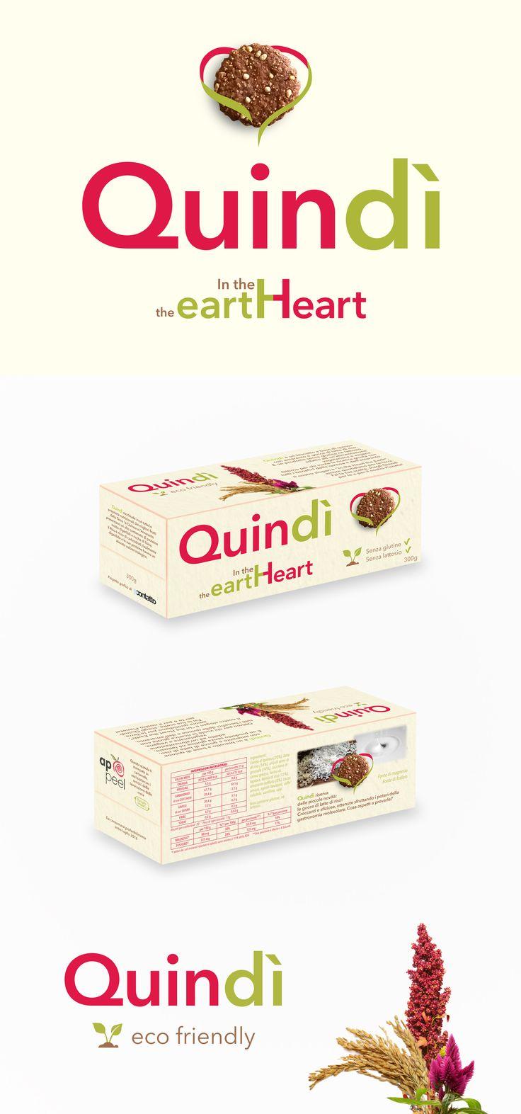 """Logo e Packaging per il prodotto """"Quindì"""""""