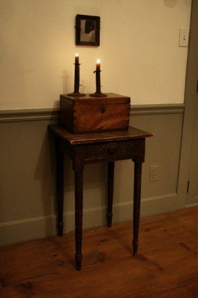 I love the wood box