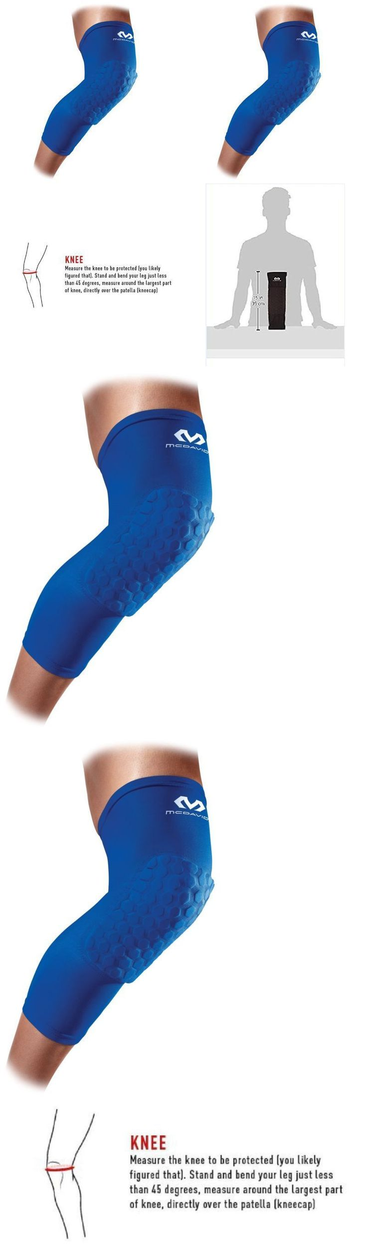 Orthotics Braces and Sleeves: Mcdavid Sports Medicine 6446 Hex Leg Sleeve, Large, Royal - One Pair -> BUY IT NOW ONLY: $31.75 on eBay!