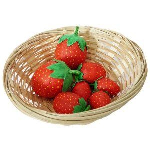 erdbeeren selber basteln basteln im sommer f r kinder und erwachsene tolle dekorationen f r. Black Bedroom Furniture Sets. Home Design Ideas
