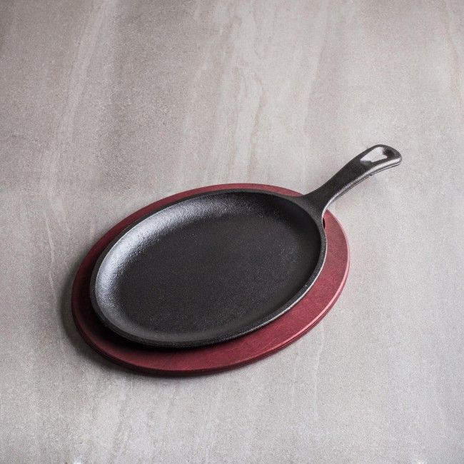 Lodge Cast Iron Red