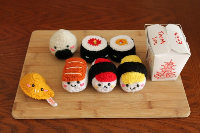 Amigurumi Sushi Free Pattern : 429 best images about MOSHI MOSHI by MYT Likes on ...