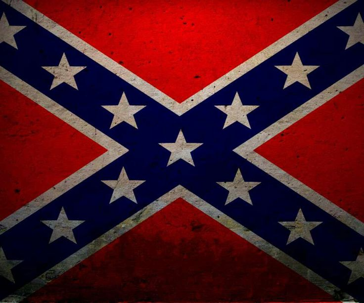 """""""Confederate flag (This flag represents treason, sedition and racism) Burn it!!"""" Actually, this is the Battle Flag of Northern Virginia. It does not in any way represent any of the things above. In fact, the 13 stars represent colonies. There is an """"X"""" over them to say that they (confederate army) didn't want to be a part if said colonies. Read a book, you idiotic individual! Slavery and such may have been something the southern states were for, but this flag doesn't represent that at all."""