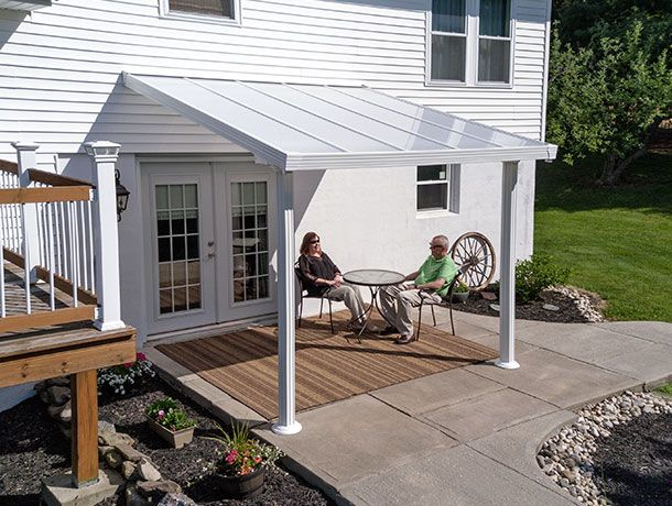 Palram Gala is an upscale and durable patio cover designed with your comfort in mind.