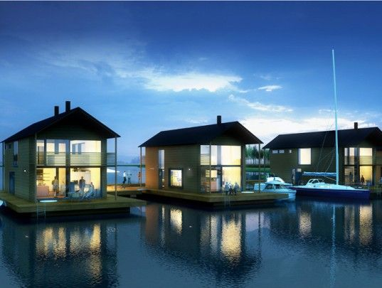 Floating Houses Pori Finland Marinetek Unveils Finland's First Floating Village!