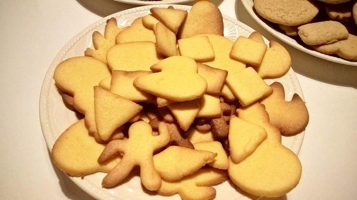 Biscuits citron et fleur de sel
