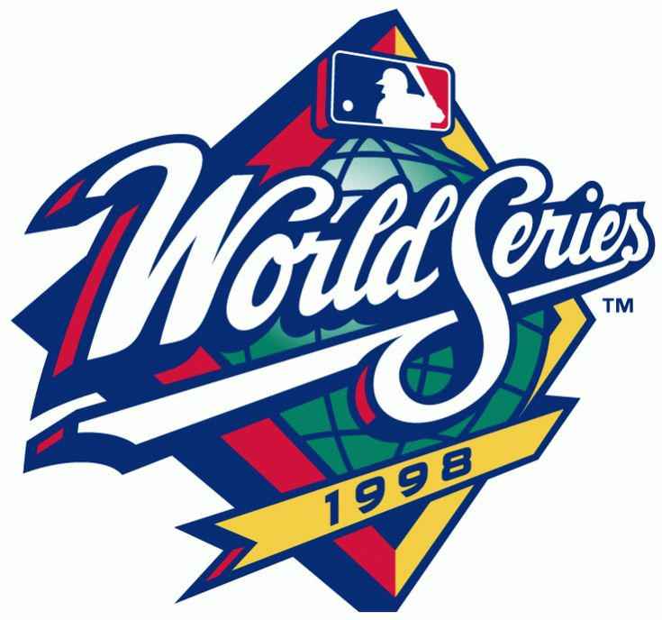 MLB World Series Primary Logo (1998) - 1998 World Series - New York Yankees 4, San Diego Padres 0