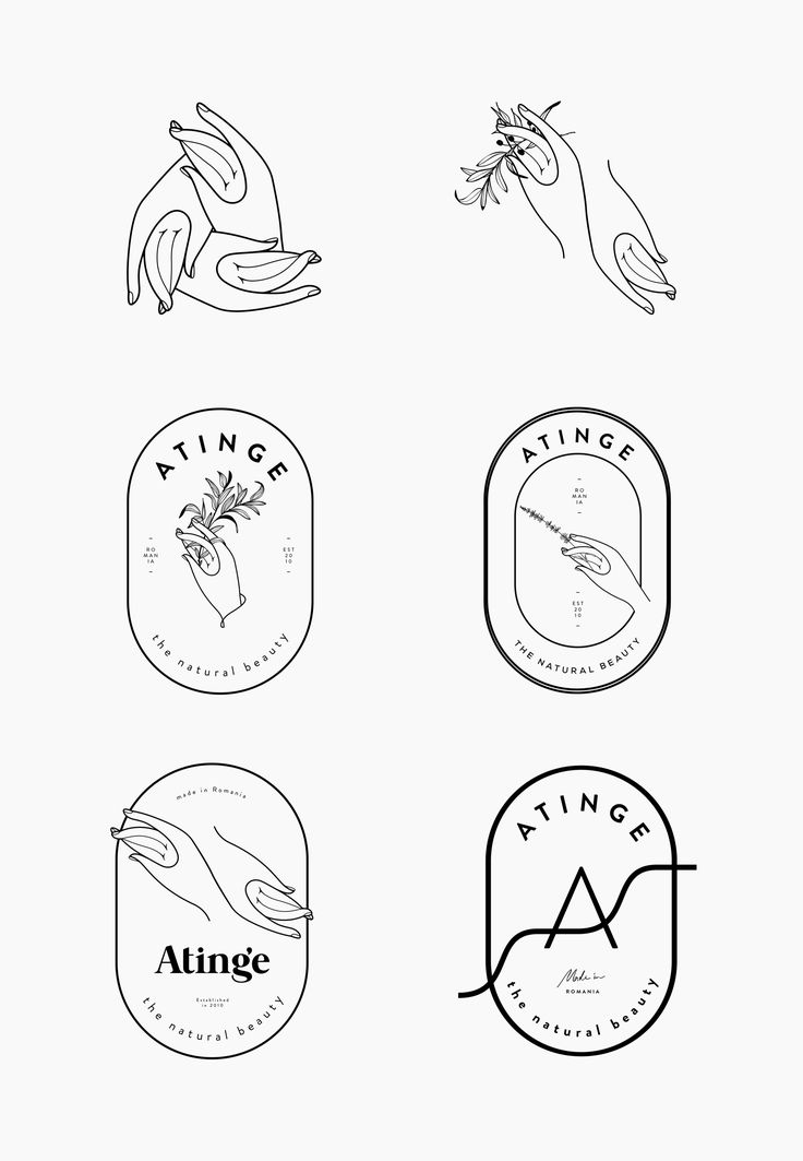 atinge-process-by-cocorrina // Logo Hände // hands