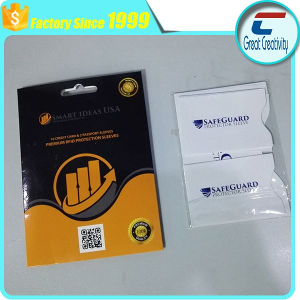 a914de599d4b 12 PACK HIGH LEVEL RFID Blocking Credit Card Sleeve Protector Shield ...