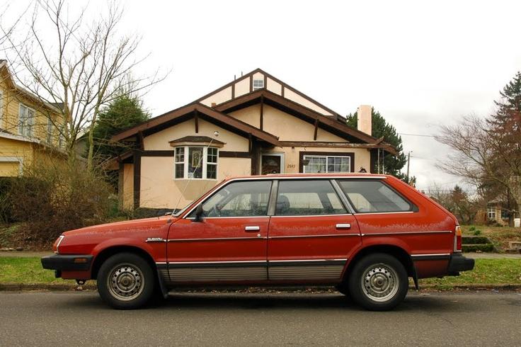 1981 Subaru GL.