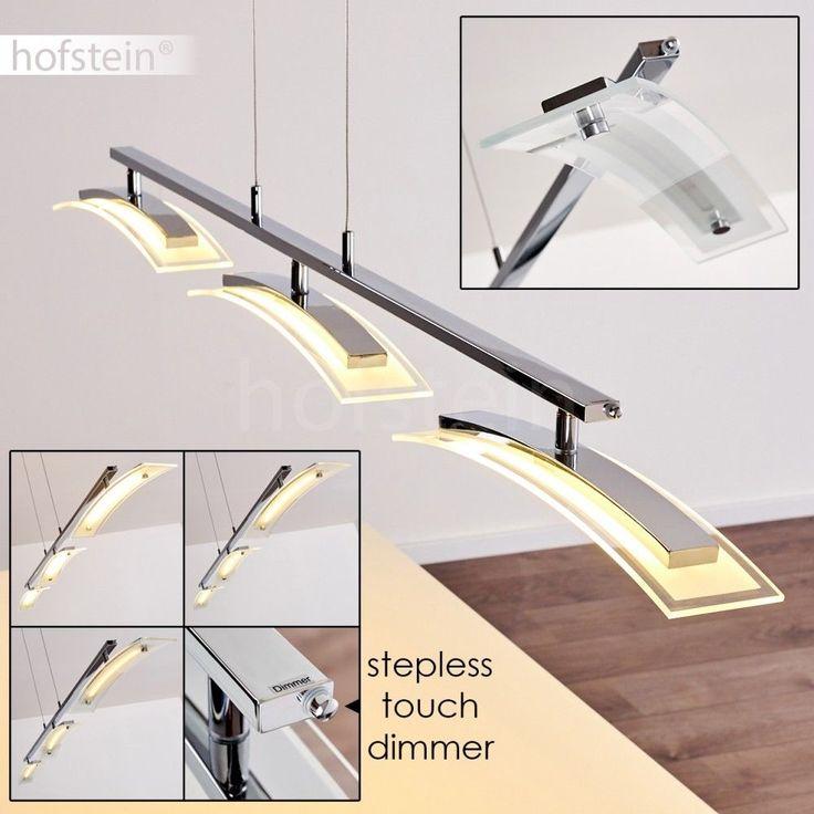 Details Zu Luxus LED Hänge Leuchten Dimmbar Ess Tisch Wohn Zimmer Pendel  Lampen Verstellbar