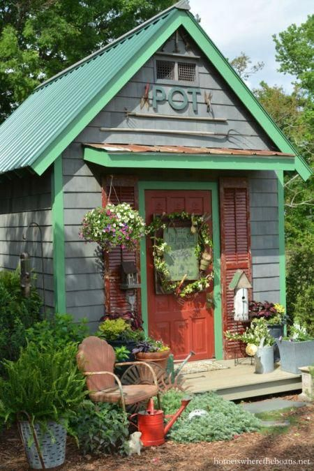 gardensheds Build The Best Shed in 2018 Shed, Potting sheds - Potting Shed Designs