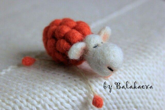 Терракот.теракот.оранжевый.оранжевая овечка