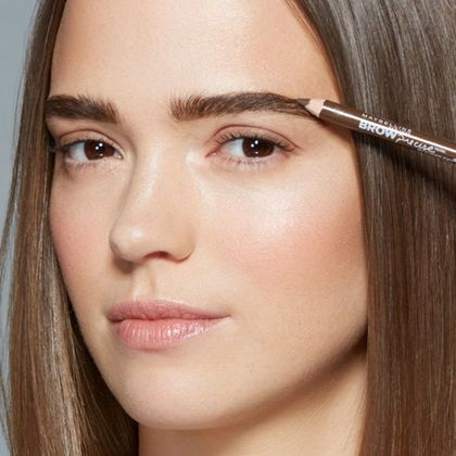 Eye Studio Brow Precise Shaping Pencil, Eyebrow Filler by Maybelline. A shaping pencil with natural wax and grooming brush to fill in brows for brow perfection.