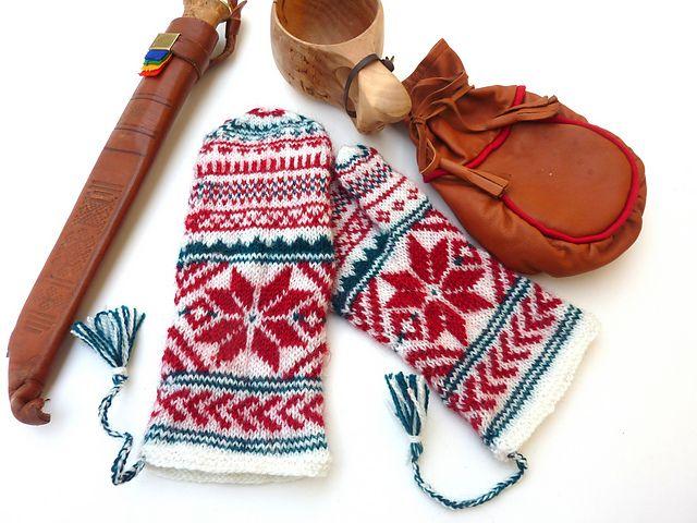 Ravelry: MARI -votter / MARI Lapland-mittens pattern by MaBe