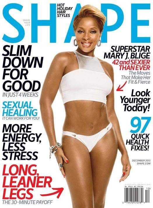 Mary J. Blige (2013.12. Shape) #MaryJBlige