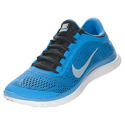 Women's Nike Free 3.0 v5 Running Shoes | FinishLine.com | Distance Blue/ Black. Zapatos Nike De MujerCalzado ...