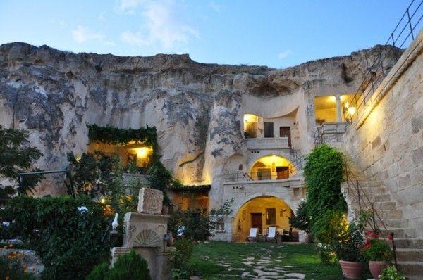 Elkep Evi Grotte (Cappadoce, Turquie)