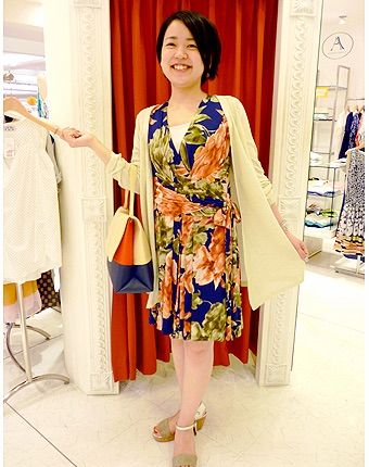 Summer dress that I bought in Kyoto, Japan.