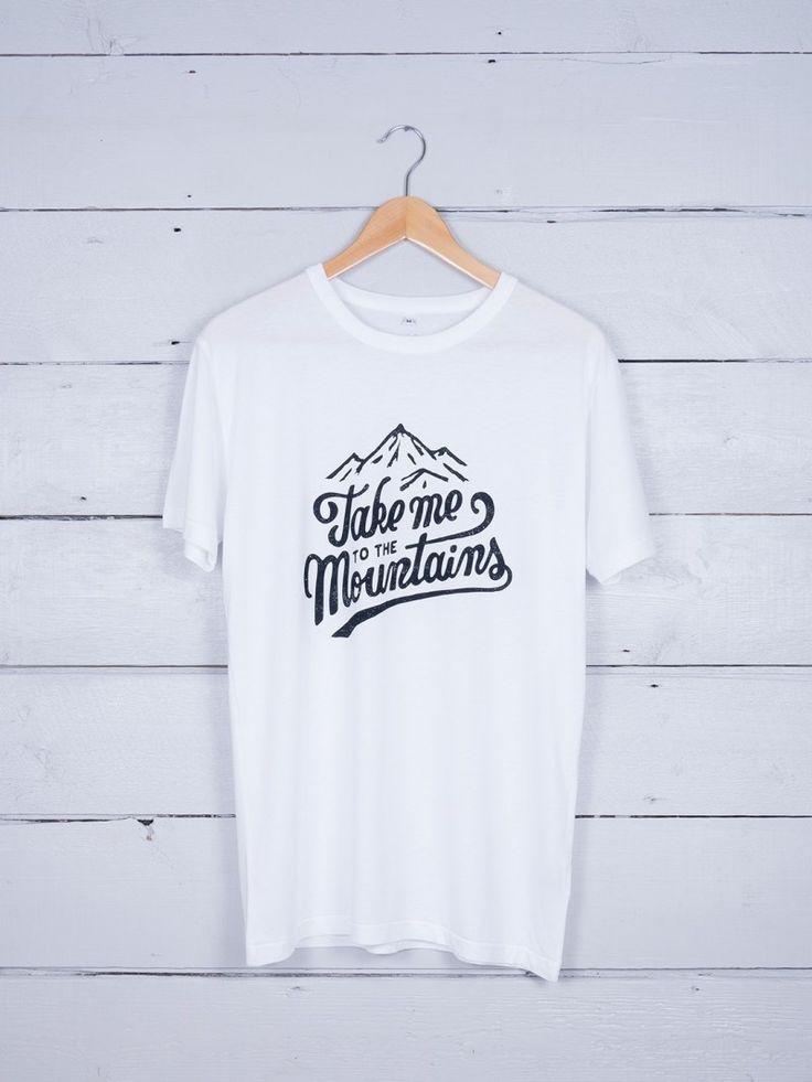 Take Me To The Mountain graphic t-shirt