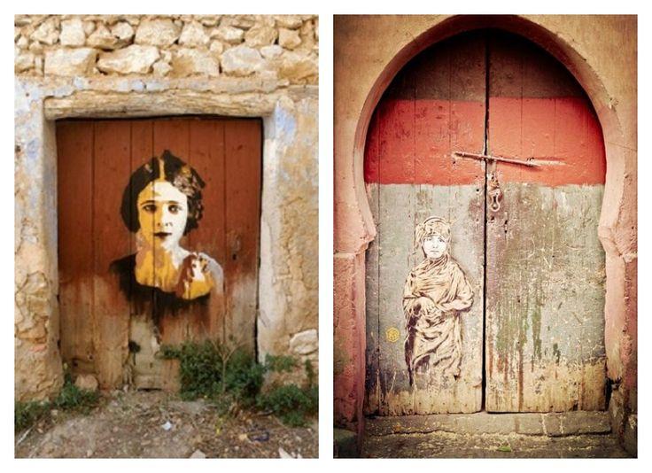 Street Art inspires Jessica Zoob's Art