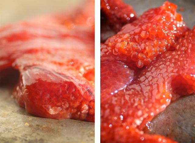 unsaltedroeskeins  http://nourishedkitchen.com/salmon-roe-recipe/