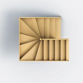 les 25 meilleures id es concernant escalier 2 quart tournant sur pinterest garde corps bois. Black Bedroom Furniture Sets. Home Design Ideas