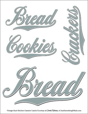 FUN WITH DECALS: In the Kitchen Free PDF Images and Giveaway | Just Something I Made