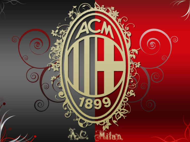 Eco Stylish Crew Logo AC Milan Two Hundred And Twelve Wallpaper