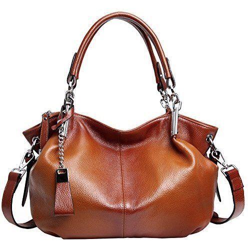 Womens Shoulder Handbag Leather Daily Fashion Handle Bags Cross Body Purse NEW #WomensShoulderHandbagLeather