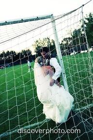 I see a goal chuppah! :)