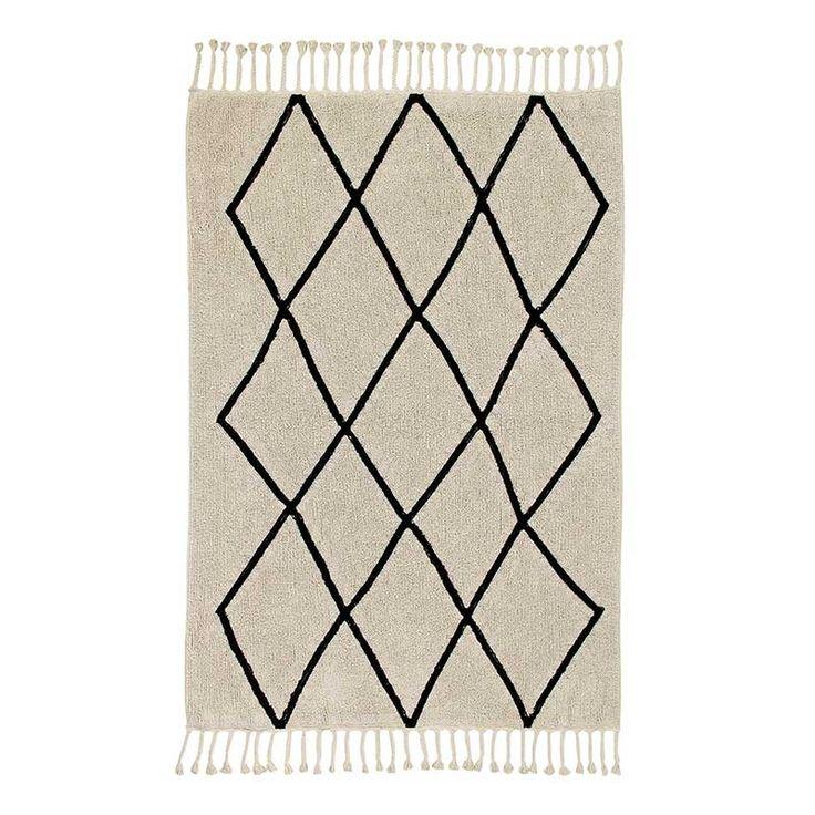 Waschbarer Teppich aus Baumwolle | 160 Euro