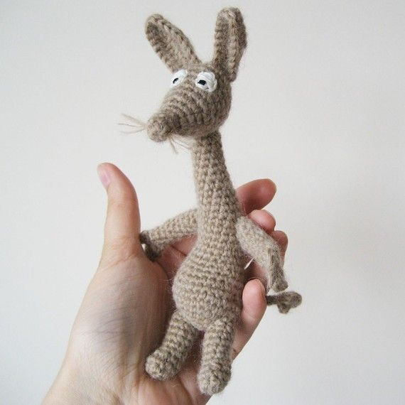~~~This listing is for a crochet pattern, not the finished toy~~~ Sniff is a character in the Moomin series of books by Finnish author Tove Jansson,