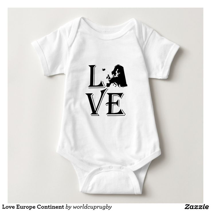 102 best earth day and peace world day gifts images on pinterest love europe continent map baby bodysuit negle Choice Image