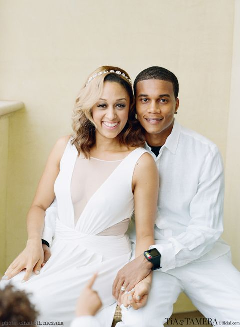 Tia Mowry-Hardrict Posts Exclusive (And Beautiful) Photos From Her Vow Renewal Ceremony